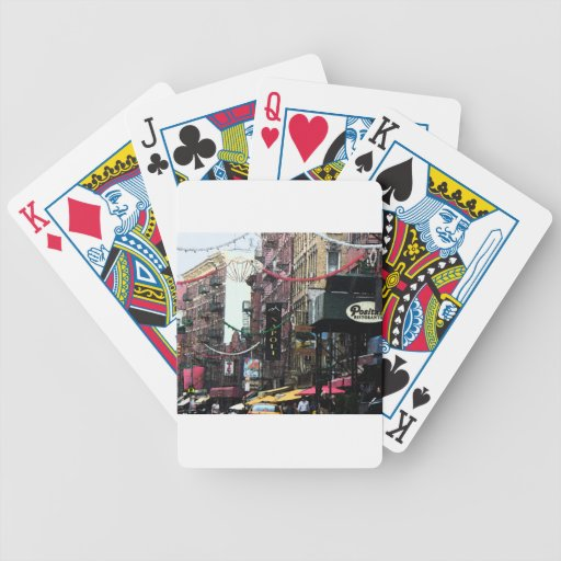 Little Italy fresco Bicycle Playing Cards