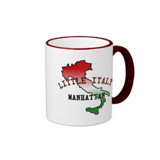 Little Italy Manhattan Ringer Coffee Mug