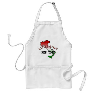 Little Italy New York Adult Apron