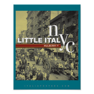 Little Italy New York City Art Print