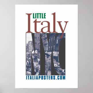 Little Italy New York City Logo Poster