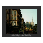 Little Italy - New York City Poster