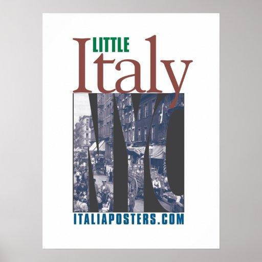 Little Italy New York Poster