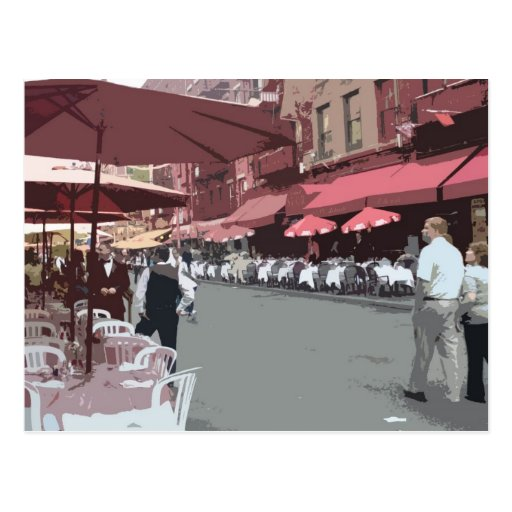 Little italy, NYC Postcards