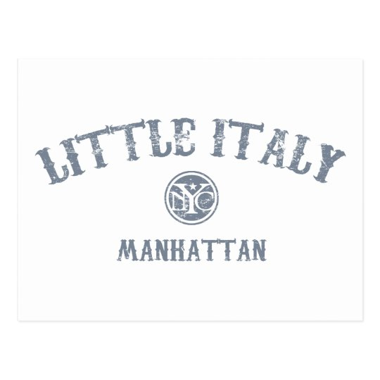 Little Italy Postcard
