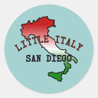 Little Italy San Diego Classic Round Sticker