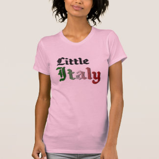 Little Italy Womens Pink T-Shirt