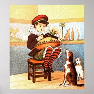 Little Jack Horner Poster