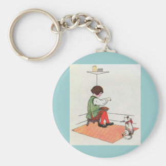 Little Jack Horner  Sat in the corner Keychain