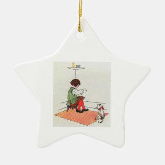 Little Jack Horner  Sat in the corner Christmas Tree Ornaments