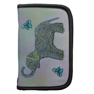 Little Jade Elephant Butterfly Folio Case Folio Planner