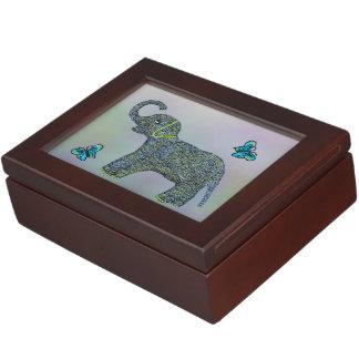 Little Jade Elephant Keepsake Box