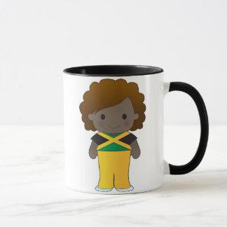 Little Jamaican Girl Mug