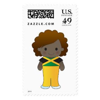 Little Jamaican Girl Postage
