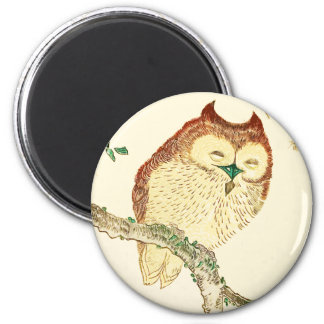 Little Japanese owl Magnet