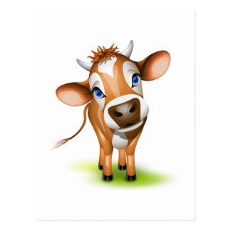 Little jersey cow postcard
