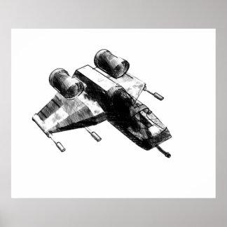 Little Jet Fighter ~Print~ Poster