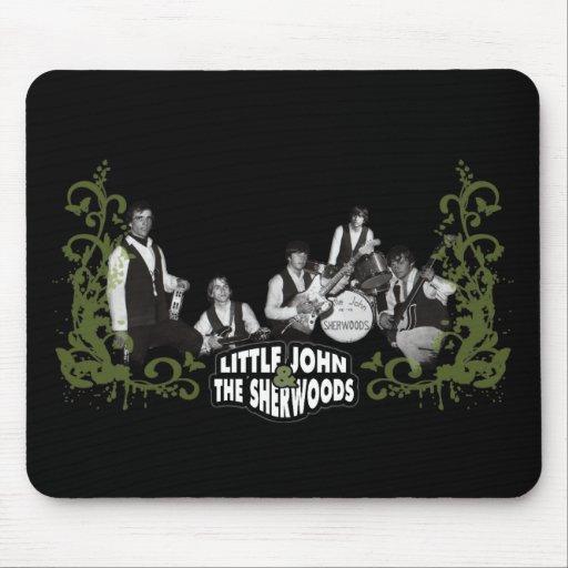 Little John and the sherwoods black mousepad
