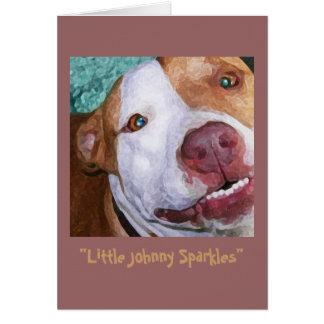 Little Johnny Sparkles Card
