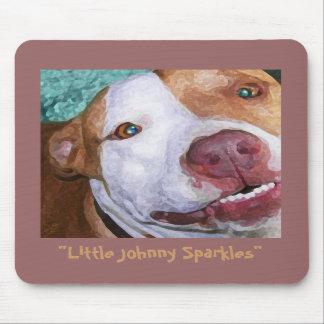 Little Johnny Sparkles Mouse Pad