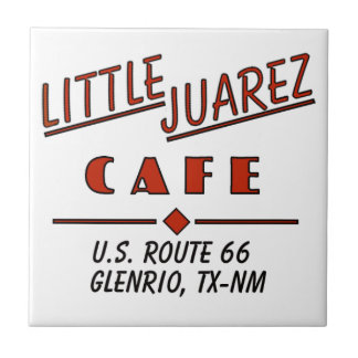 Little Juarez Cafe Mug Ceramic Tile