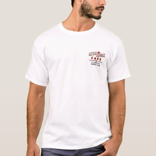 Little Juarez Cafe Sombrero T_Shirt