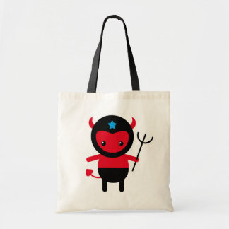 Little kawaii Ninja devil Budget Tote Bag