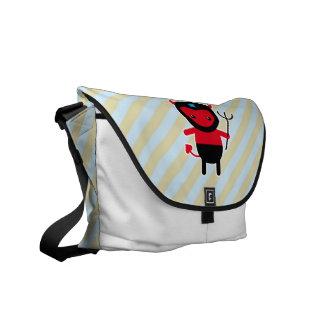 Little kawaii Ninja devil Courier Bag
