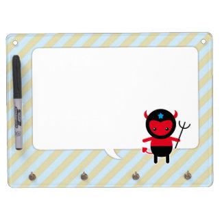 Little kawaii Ninja devil Dry-Erase Boards