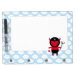 Little kawaii Ninja devil Dry Erase Whiteboard