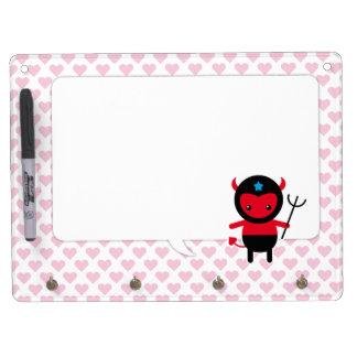 Little kawaii Ninja devil Dry-Erase Whiteboard