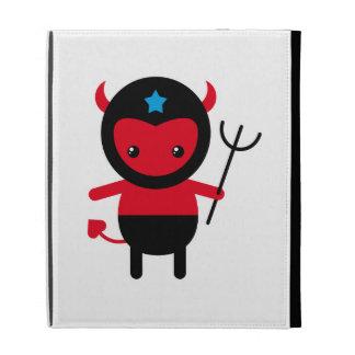 Little kawaii Ninja devil iPad Case