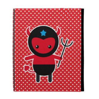 Little kawaii Ninja devil iPad Cases