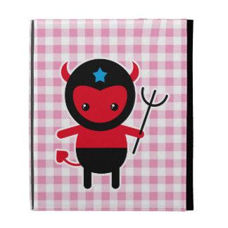 Little kawaii Ninja devil iPad Folio Case