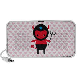 Little kawaii Ninja devil iPhone Speaker