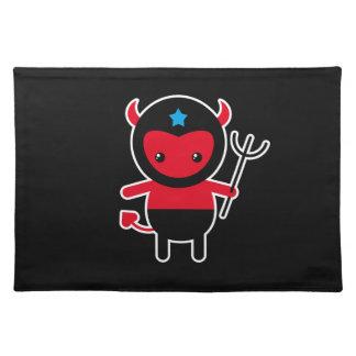 Little kawaii Ninja devil Place Mat
