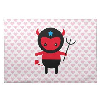 Little kawaii Ninja devil Place Mats