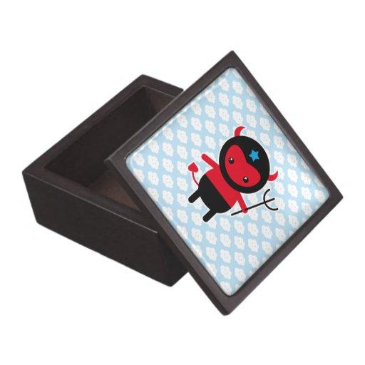 Little kawaii Ninja devil Premium Trinket Box