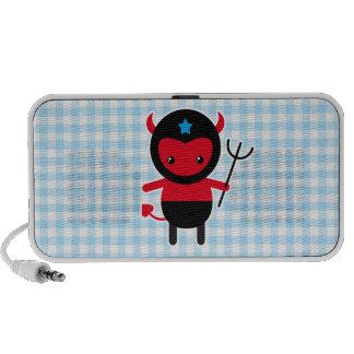 Little kawaii Ninja devil Travel Speaker
