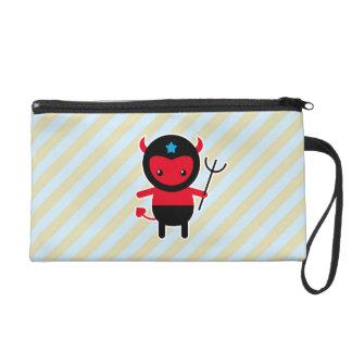 Little kawaii Ninja devil Wristlet