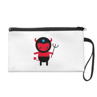 Little kawaii Ninja devil Wristlet Purses