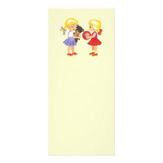 LITTLE KIDS BACK PRE-SCHOOL KINDERGARTEN SCHOOL RACK CARD