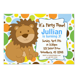 Lion king birthday invitations announcements zazzle little king lion birthday party invitation filmwisefo