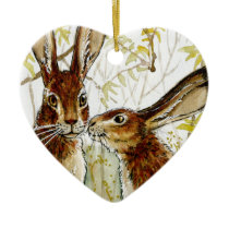 Little KIS design by Schukina 543 Ceramic Ornament