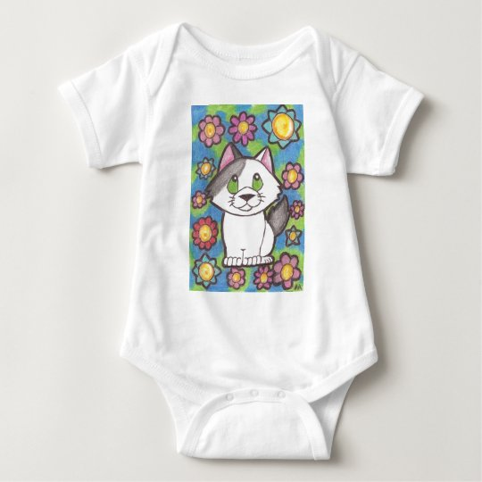 Little Kitten Baby Bodysuit