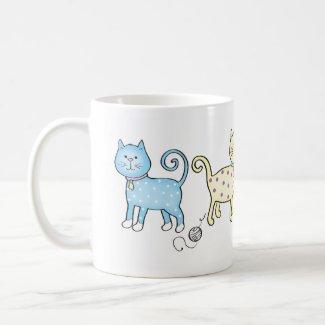 Little Kitties Mugs
