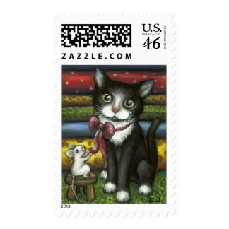 Little Kitty at the Tailor s Postage