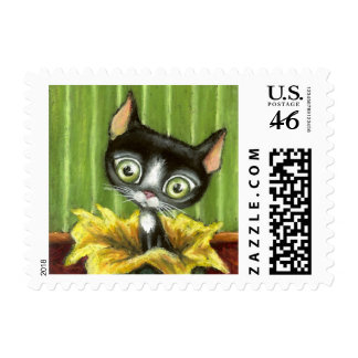 Little Kitty Postage Stamps
