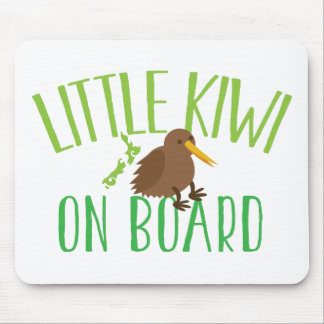 Little kiwi on board (Cute New Zealand maternity) Mouse Pad