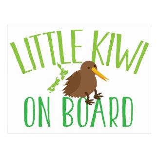 Little kiwi on board (Cute New Zealand maternity) Postcard